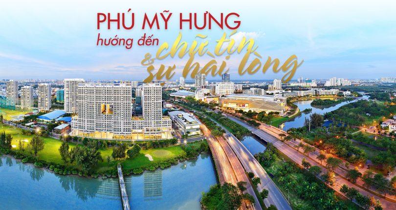 Dự án biệt thự Hồng Thịnh chủ đầu tư Phú Mỹ Hưng